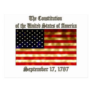 Constitución de los E.E.U.U. Postal