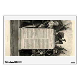 Constitución francesa de la Declaración de Derecho Vinilo Adhesivo