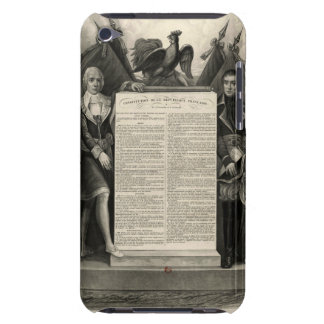 Constitución francesa de la Declaración de iPod Case-Mate Cárcasas