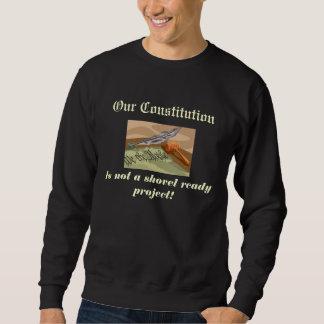 Constitución lista de la pala sudadera