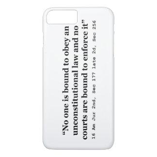 Constitution 16 Am Jur 2nd Sec 177 late 2d Sec 256 iPhone 8 Plus/7 Plus Case