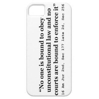 Constitution 16 Am Jur 2nd Sec 177 late 2d Sec 256 iPhone SE/5/5s Case
