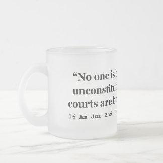 Constitution 16 Am Jur 2nd Sec 177 late 2d Sec 256 Coffee Mugs