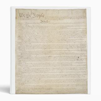 Constitution Binder