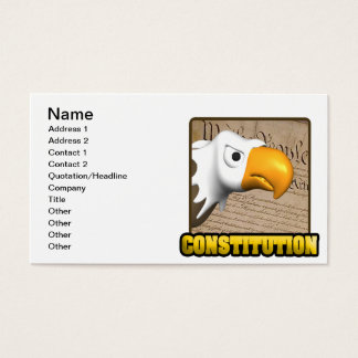 Constitution Business Card