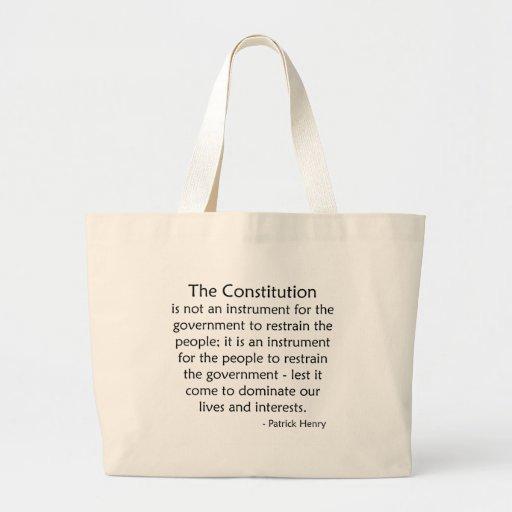 Constitution Canvas Bag