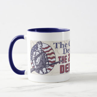 Constitution Defines U.S. 2nd Amendment Defends US Mug