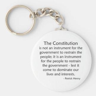 Constitution Keychain