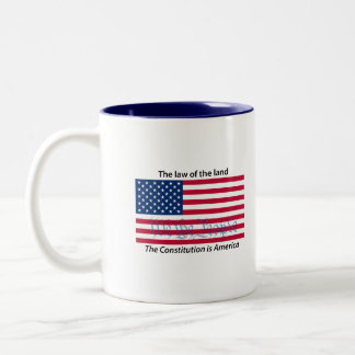Constitution, Law of the Land 2 mug