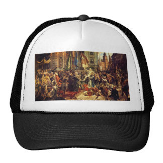 Constitution of May 3 1791 by Jan Matejko in 1891 Trucker Hats