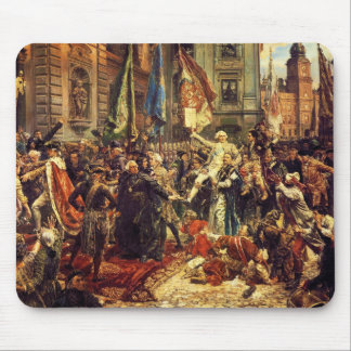 Constitution of May 3 1791 by Jan Matejko in 1891 Mouse Pad