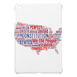 Constitution of the United States in Shape of USA Case For The iPad Mini