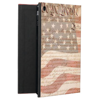 Constitution on the American flag Patriotic Case For iPad Air