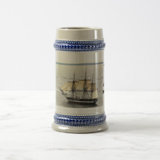 Constitution, Parade  United States Historic ship 18 Oz Beer Stein