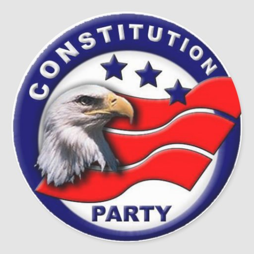 Constitution Party logo Stickers