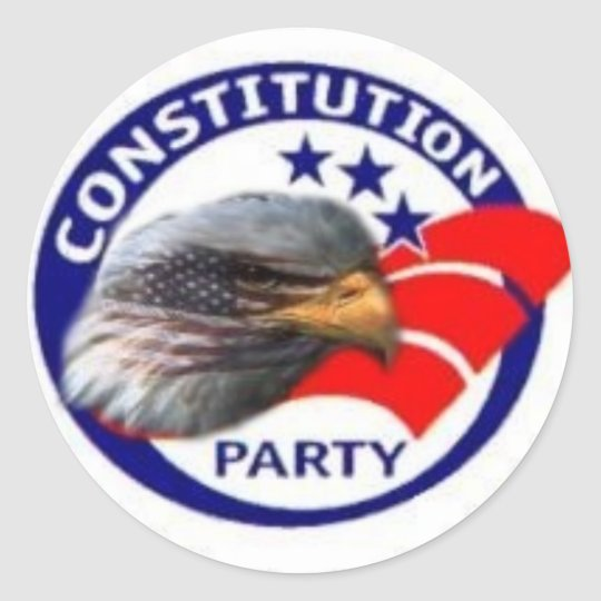constitution party Sticker