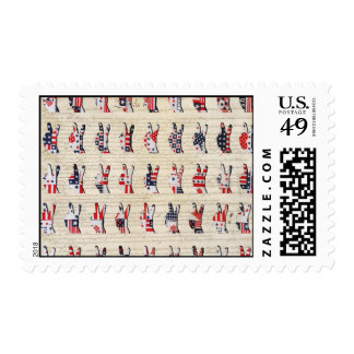 Constitution Peace Postage Stamps