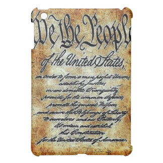 CONSTITUTION PREAMBLE iPad MINI COVER