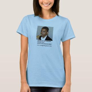 Constitution Smoking Obama T-Shirt