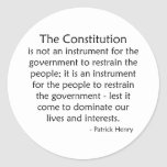 Constitution Sticker