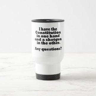 Constitution travel mug