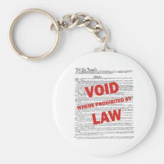 Constitution - VOID Keychain
