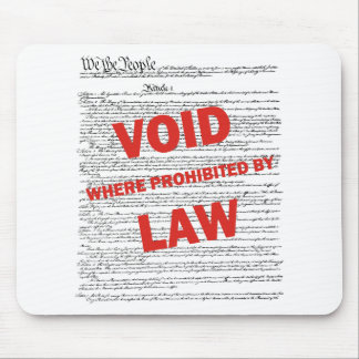 Constitution - VOID Mouse Pad