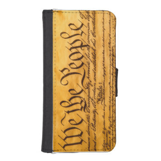 Constitution wallet phone case