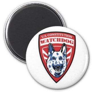 Constitution Watchdog 2 Inch Round Magnet