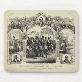 Constitutional 15th Amendment and it's Results Mouse Pad