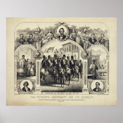 The Fifteenth Amendment Poster Print (24 x 18)