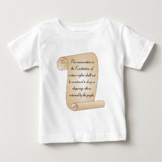 Constitutional Amendment 9 Baby T-Shirt