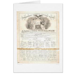 Constitutional Amendment Abolishing Slavery 0453A Card
