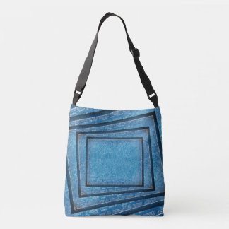 Constitutional Blueprint Crossbody Bag