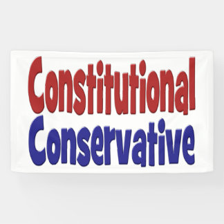 Constitutional Conservative Banner