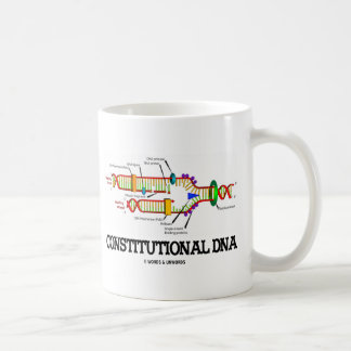 Constitutional DNA (DNA Replication) Coffee Mug