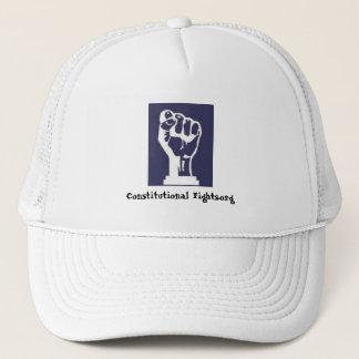 Constitutional Fights Fist Cap