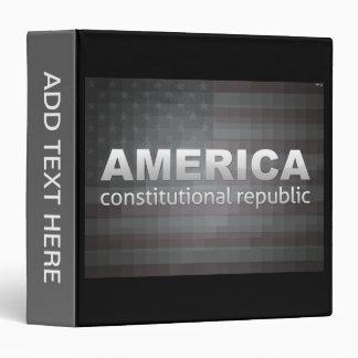 Constitutional Republic 3 Ring Binder