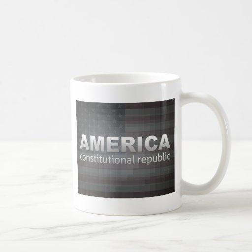 Constitutional Republic Coffee Mugs