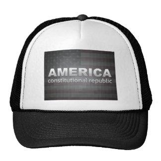 Constitutional Republic Mesh Hats