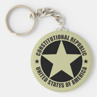 Constitutional Republic Keychain