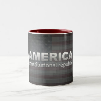 Constitutional Republic Two-Tone Coffee Mug