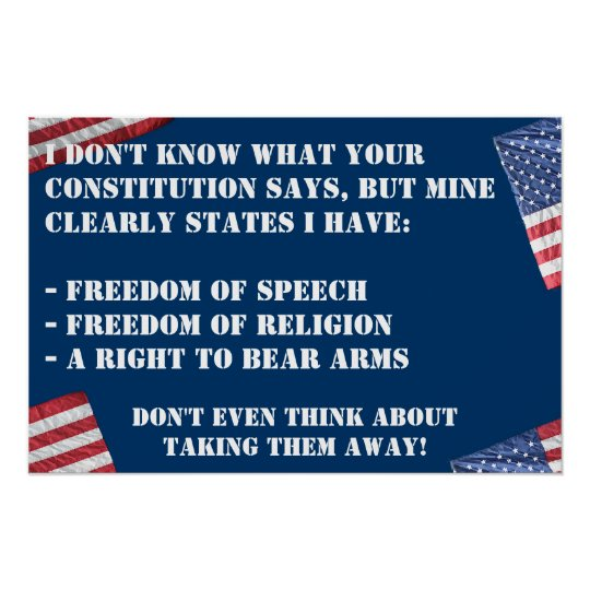 CONSTITUTIONAL RIGHTS POSTER