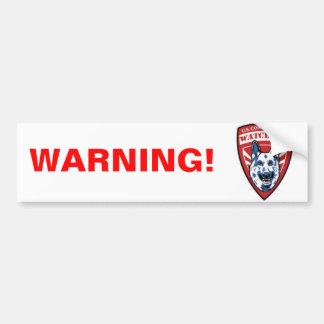 Constitutional Watchdog Bumper Sticker