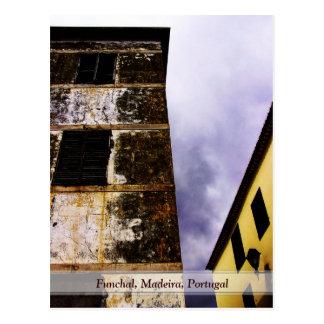 Constrast: Funchal, Madeira (Portugal) Postal
