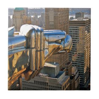 Construcción de Chrysler: Gargoyle Azulejo Cuadrado Pequeño