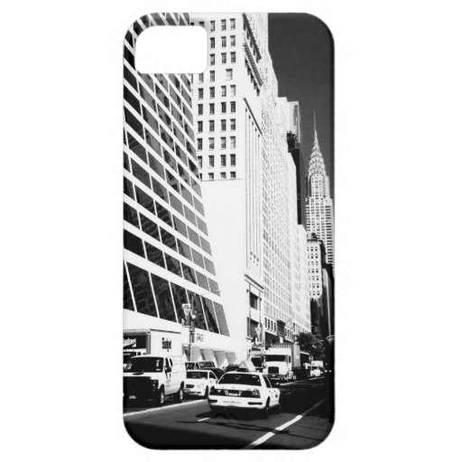 Construcción de Chrysler - New York City iPhone 5 Case-Mate Carcasa