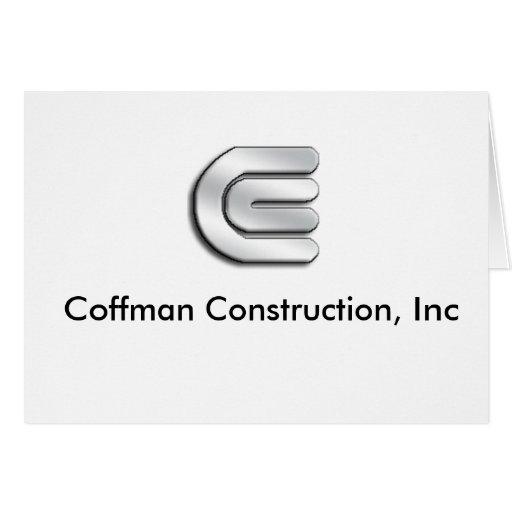Construcción de Coffman, inc. Felicitacion