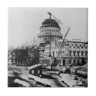 Construcción de la bóveda del capitolio de los E.E Azulejos Cerámicos