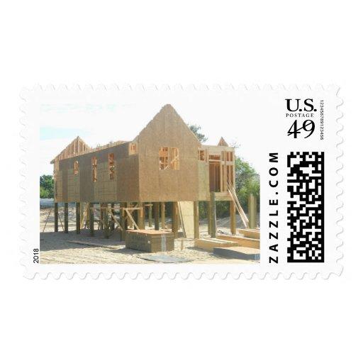 Construcción de la casa de playa envio